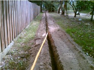 trenching-using-a-ditch-witch-k9-mini-digger